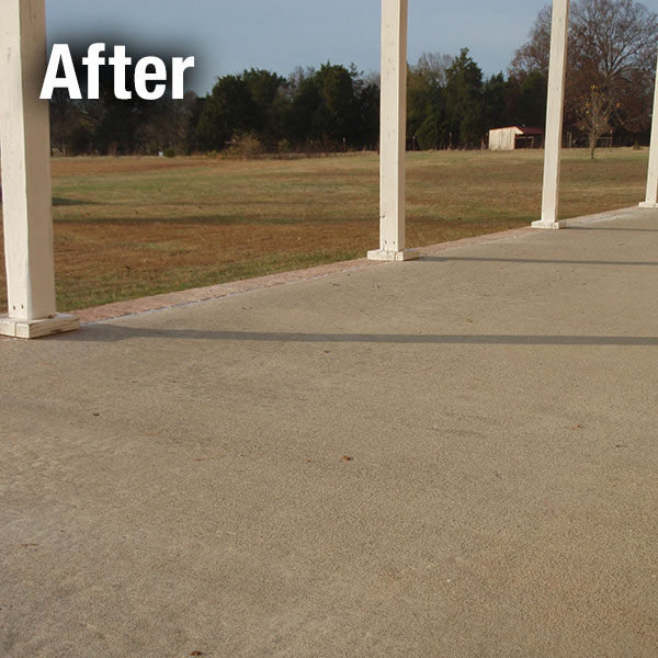 Fort Wayne​ Concrete Patio Leveling - After