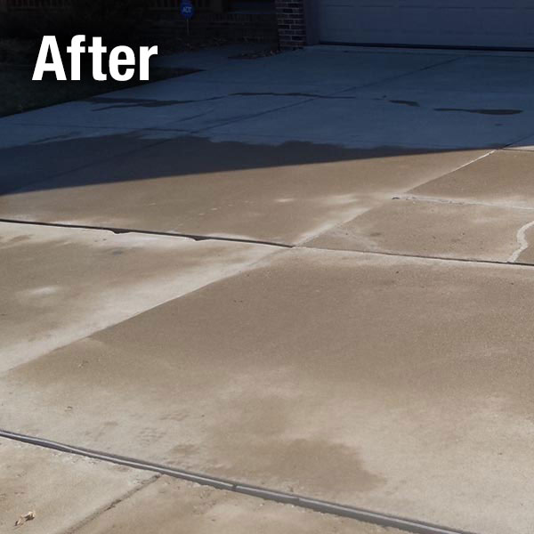 A-1 Concrete Fort Wayne Driveway Leveling - After