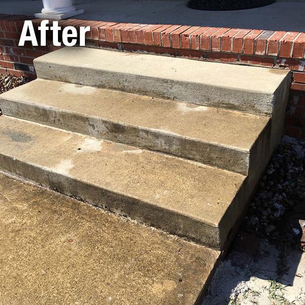 Fort Wayne​ Concrete Steps Leveling - After